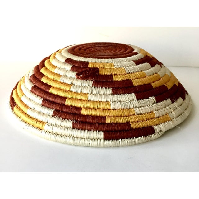 African Woven Basket - Image 4 of 7