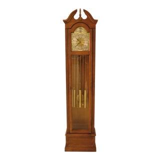 Ridgeway Narrow Tall Case Grandfather Hall Clock For Sale