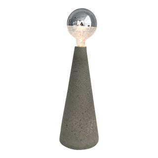 Tall Concrete Cone Light For Sale