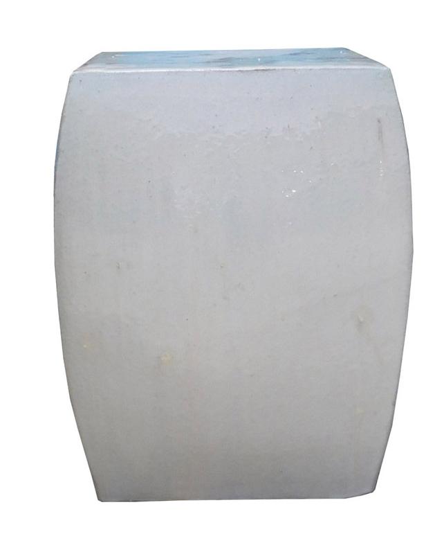 Off White Square Chinese Ceramic Garden Stool Chairish