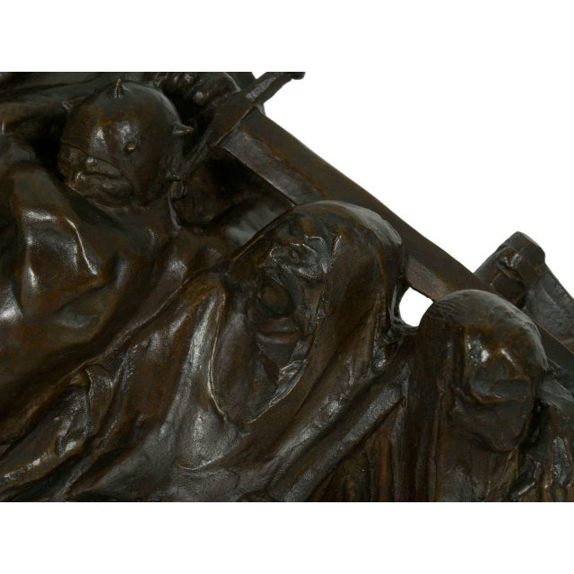 """The Four Horsemen of the Apocalypse"" Bronze Sculpture by Lee Oscar Lawrie (German/American, 1877-1963) For Sale - Image 9 of 13"