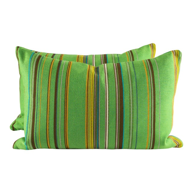 "22"" X 14"" Maharam Point by Paul Smith Down Pillows For Sale"