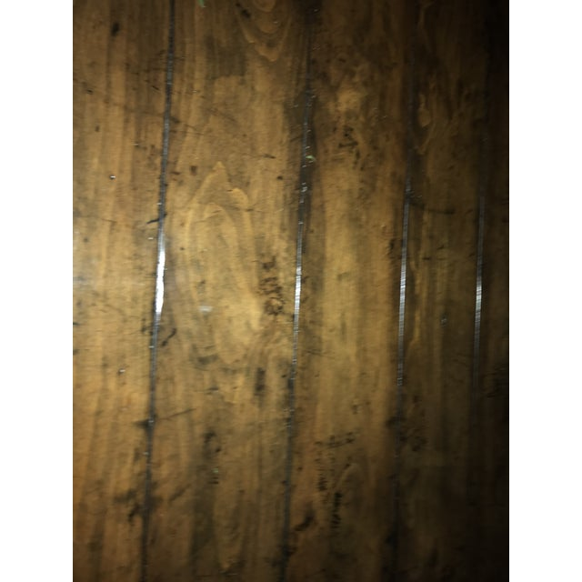 Guy Chaddock Wood Dining Table For Sale - Image 9 of 12