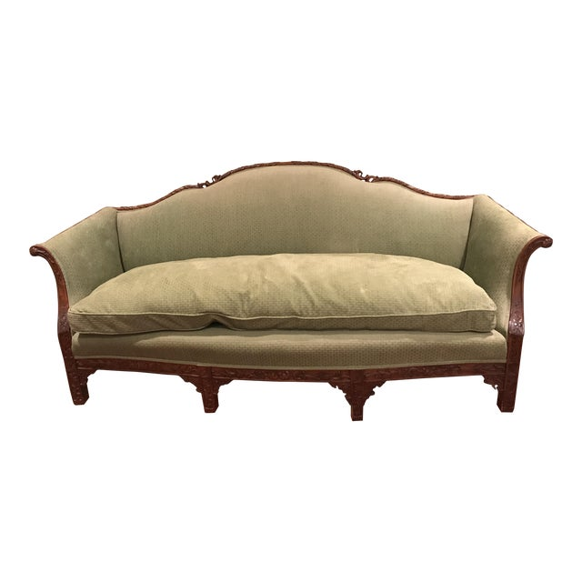 Chippendale Carved Mahogany Sofa - Image 1 of 11