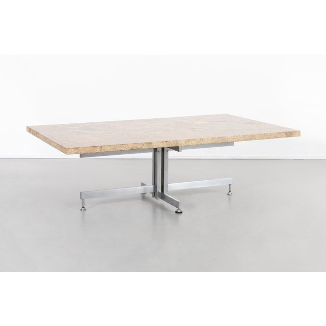 Tan Hugh Acton Coffee Table For Sale - Image 8 of 8