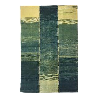 Organic Modern Patchwork Kilim | 2'7 X 3'8 For Sale