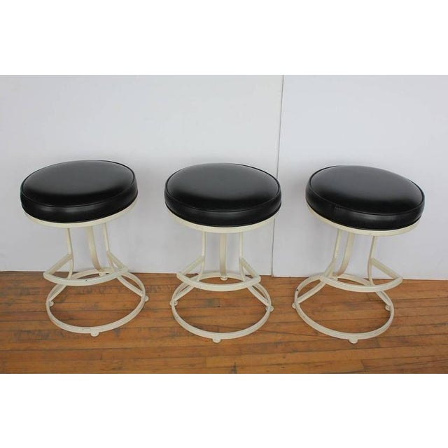 Mid-Century Swivel Stools By Shaver Howard. Listed price is for each stool. 3 stools are available.