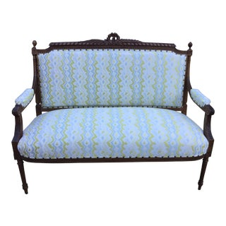 19th Century French Settee For Sale