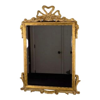 Decorative Arts Inc. Antique Gold Carved Wall Mirror For Sale