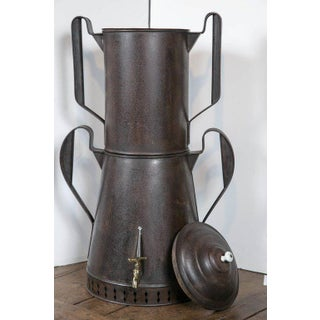 Mid 19th C. Metal Coffee Urn Preview