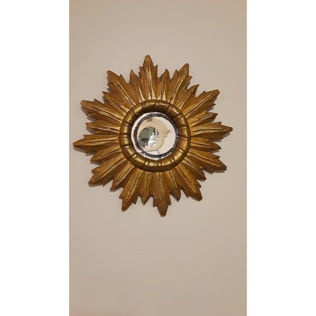 Vintage Sunburst Mirror - Image 2 of 4