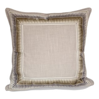 Travers Wall Street Pillow Cover For Sale