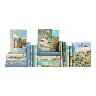 Midcentury Book Set for Girls, S/25