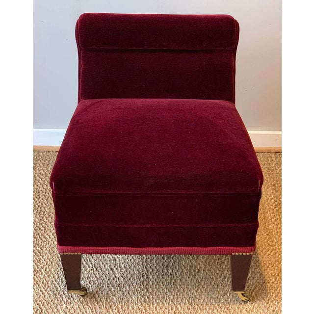 George Smith Slipper Chair For Sale - Image 11 of 12