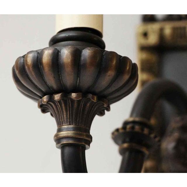 1920s Vintage Tudor Sconces - a Pair For Sale - Image 5 of 10