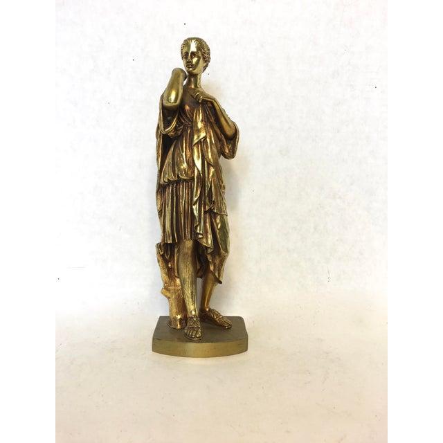 Bronze Neoclassical Grand Tour Statue - Image 4 of 8