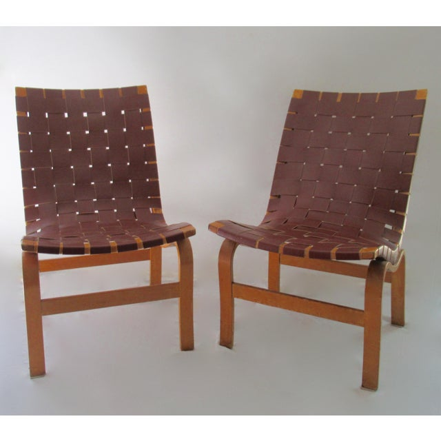 """Final Markdown: 1940-49 Vintage Bruno Mathsson Mid-Century Modern Scandinavian """"Eva"""" Easy Chairs - a Pair For Sale - Image 13 of 13"""