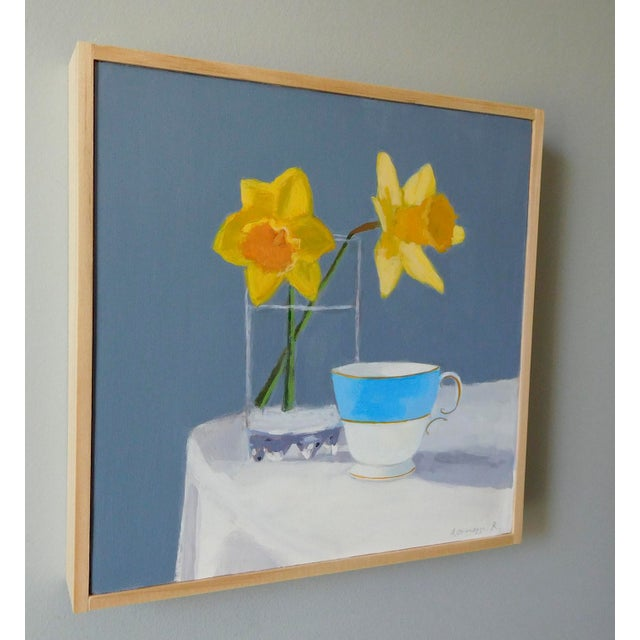 Anne Carrozza Remick Daffodil and Teacup by Anne Carrozza Remick For Sale - Image 4 of 7