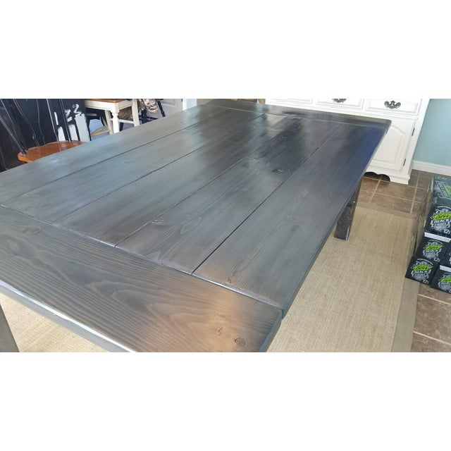 Farmhouse Pine Dining Table - Image 6 of 6