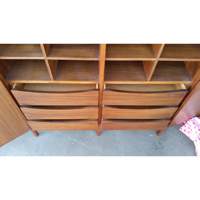 Brown 1960's Paul McCobb for Lane Delineator High Chest For Sale - Image 8 of 9