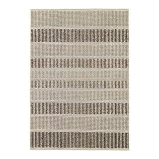 Jaipur Living Cado Indoor Outdoor Stripe Gray & Black Area Rug - 9'x12'