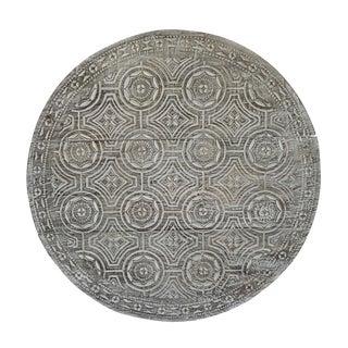 Round Toraja Carved Wood Panel For Sale