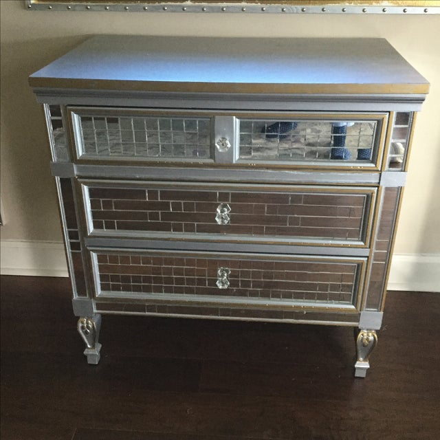 Mirrored 3-Drawer Accent Dresser - Image 2 of 6