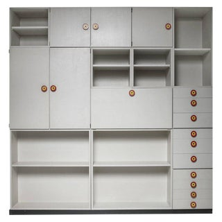 "Set of 15 ""Kubirolo"" Shelving System by Ettore Sottsass for Poltronova For Sale"