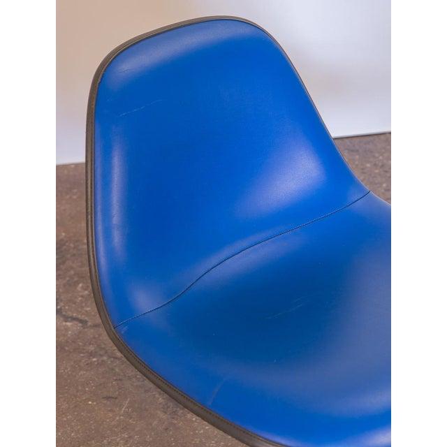 1960s Blue La Fonda Eames Chair for Herman Miller For Sale - Image 5 of 10