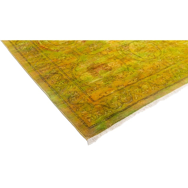 """Vibrance Hand Knotted Area Rug - 6' 1"""" X 9' 3"""" - Image 2 of 4"""