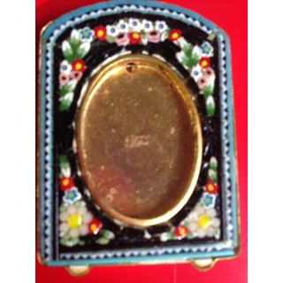 Antique Victorian Micro Mosaic Photo Frame Preview