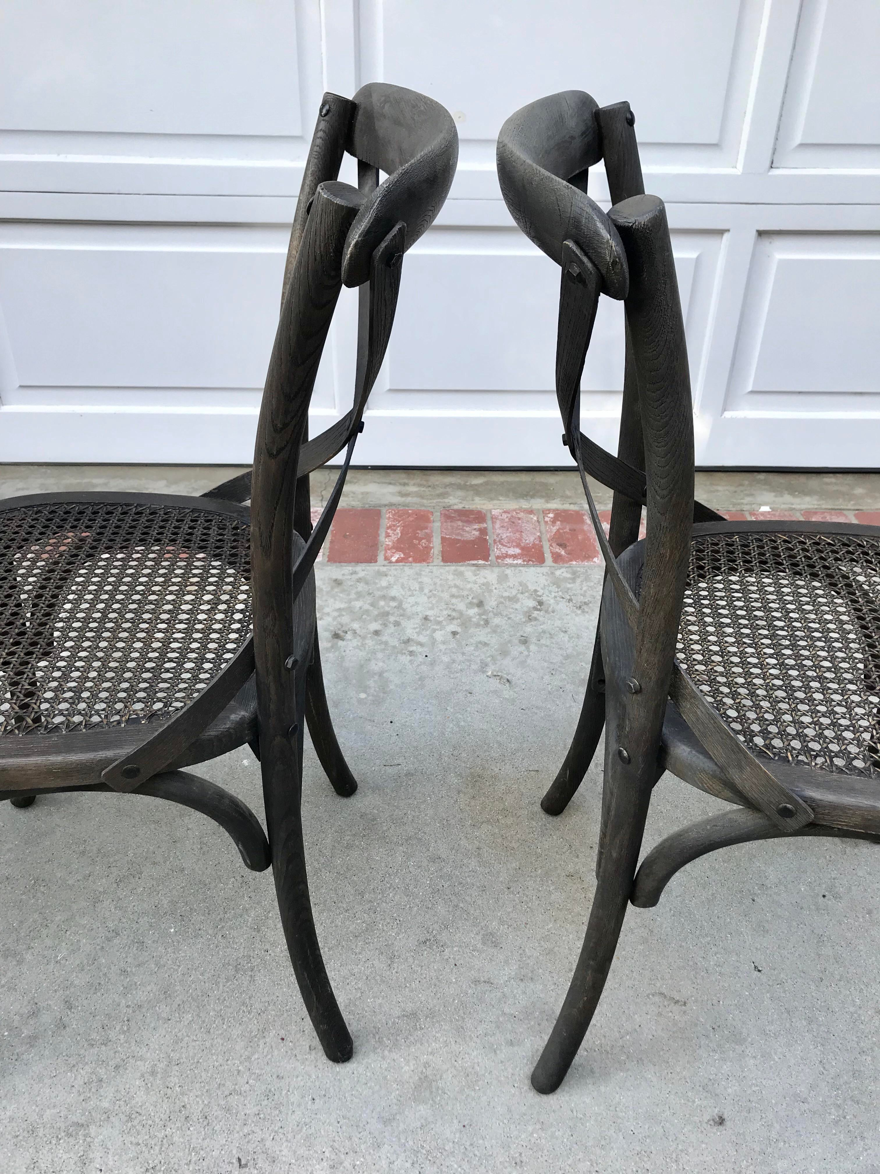 Restoration Hardware Madeleine Side Chairs   Set Of 4 For Sale   Image 5 Of  6