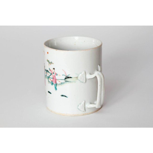 Gold Late 18th Early 19th Century Chinese Export Mugs / Tankards For Sale - Image 8 of 13