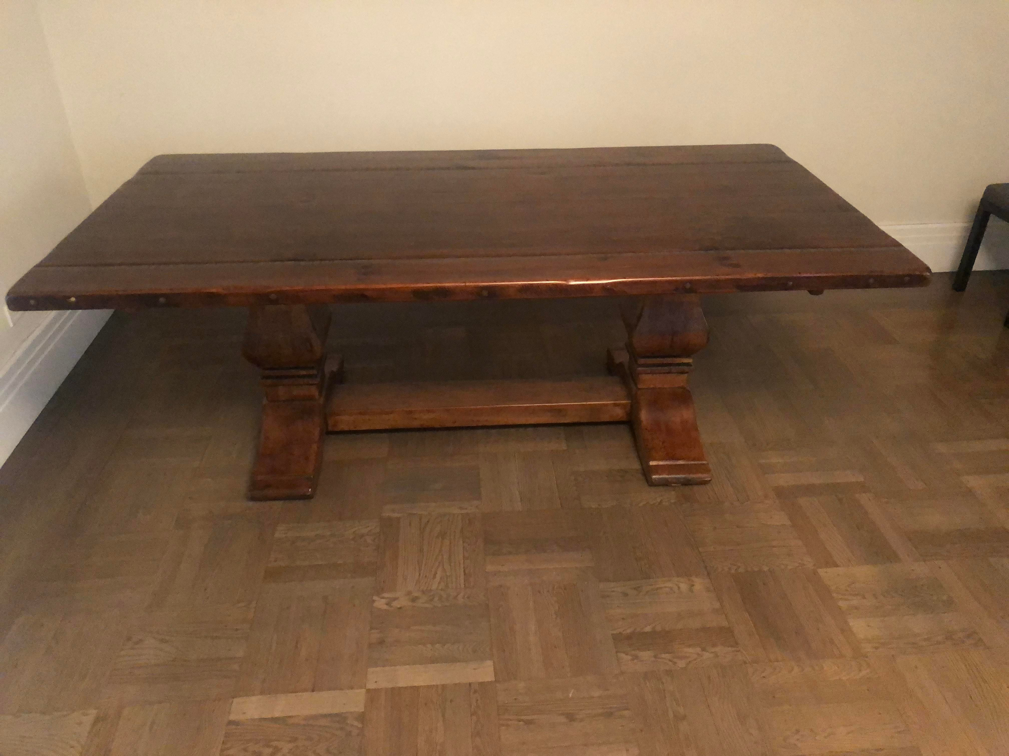 Beautiful, Solid Wood Ralph Lauren Dining Table. Excellent Condition. 10  Years Old Dimensions