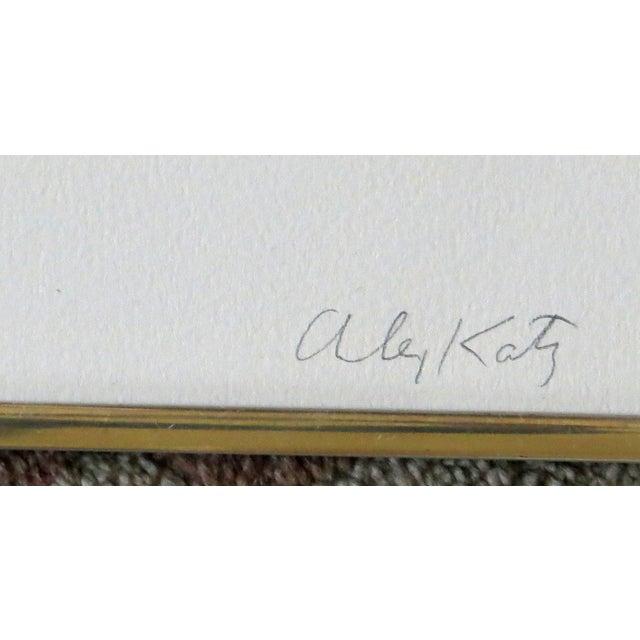 """Lake Wesserunsett II"" Serigraph S/N by Alex Katz - Image 4 of 8"