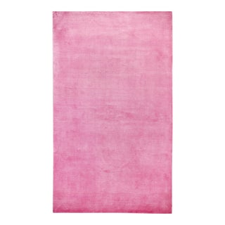 Contemporary Nepalese Silk Rug - 3′ × 5′ For Sale
