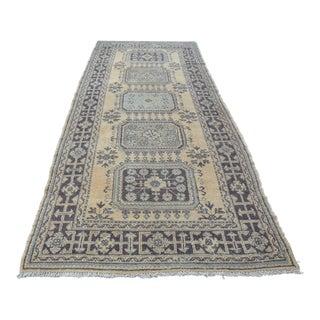 Anatolian Oushak Carpet - 4′9″ × 11′3″ For Sale