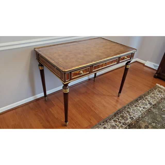 """Theodore Alexander """"Tales From France Writing Desk"""" For Sale - Image 10 of 13"""