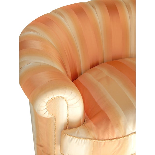 Curved Channel Back Settee - Final Sale! - Image 7 of 10