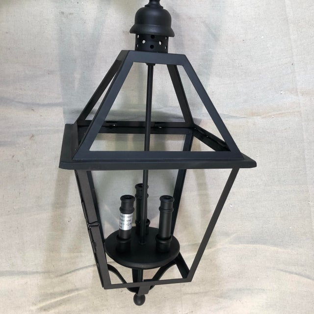 Traditional Troy Lighting Townsend Large Outdoor Lantern Pendant For Sale - Image 3 of 12