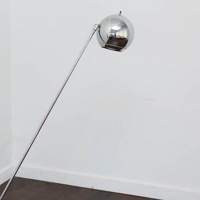 Chrome Eyeball Floor Lamp - Lamp Design Ideas