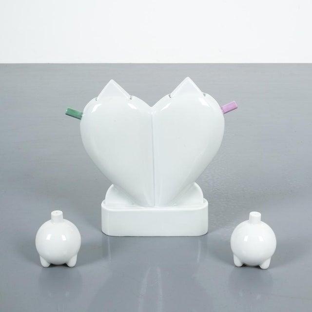 Ceramic Matteo Thun Extravergine Cruet for Anthologie Quartett, 1980's For Sale - Image 7 of 8