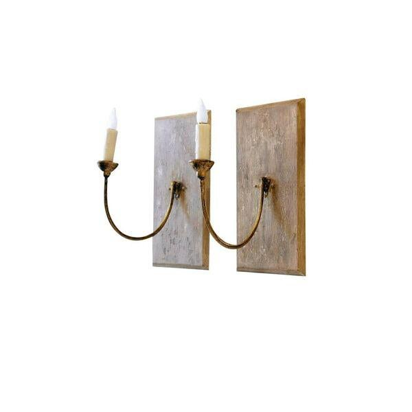 Pair of Large 19th Century Gilt Iron Sconces - Image 6 of 10