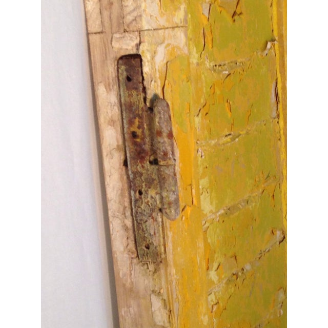 Rustic Arch Top Shutters - a Pair - Image 8 of 8