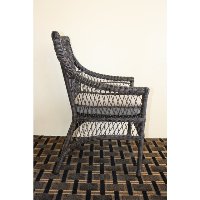 McGuire Water Mill Arm Chair - Image 4 of 6