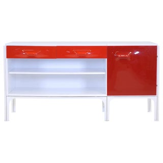 Raymond Loewy Desk With Drawers for Doubinsky Freres, Df2000 Series For Sale