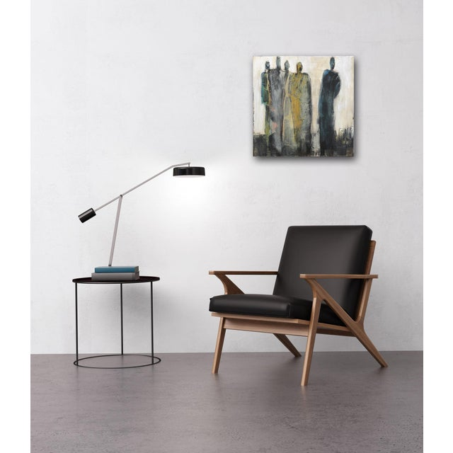 "Canvas Abstract Original Artwork, ""9492"" by Edith Konrad For Sale - Image 7 of 9"