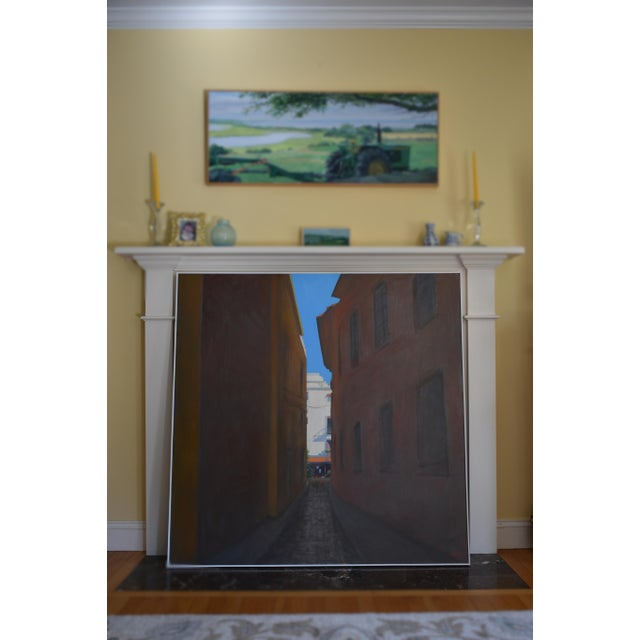 """Memory of Seville"" Large Contemporary Painting by Stephen Remick For Sale - Image 10 of 11"