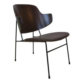 1960s Vintage Ib Kofod Larsen for Selig Penguin Chair For Sale