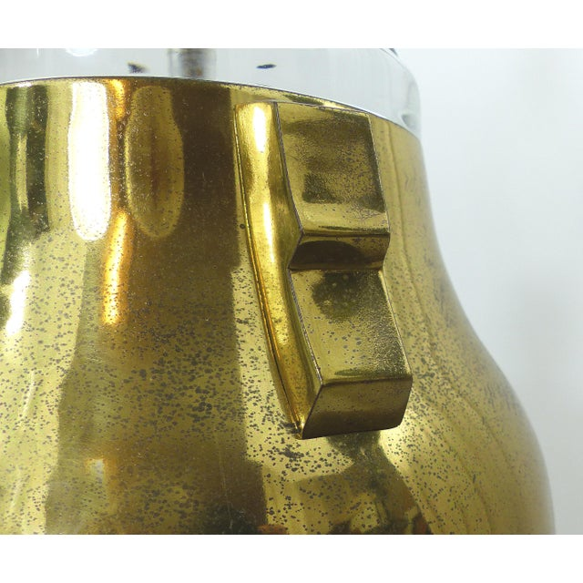 Vintage Brass & Lucite Urn Lamps - A Pair - Image 10 of 10